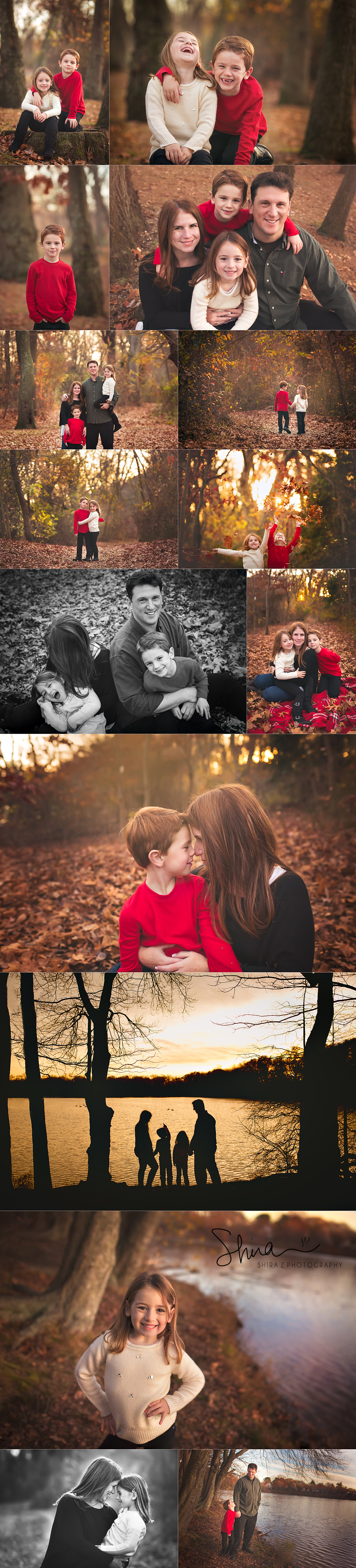 Nassau County Family portraits at a park outdoors